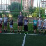 Соревнования по футболу в ПК Надежда